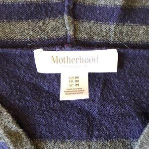 Motherhood Maternity Sweaters - Maternity sweater with hood